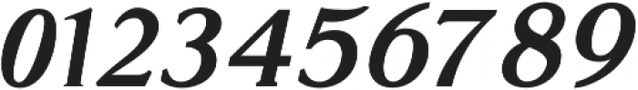 Glosso Novum Bold Italic otf (700) Font OTHER CHARS