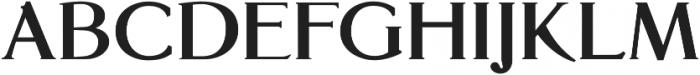Glosso Novum Bold otf (700) Font UPPERCASE