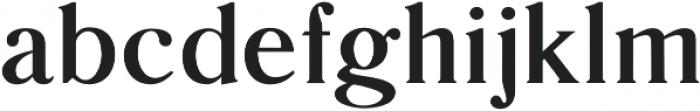Glosso Novum Bold otf (700) Font LOWERCASE
