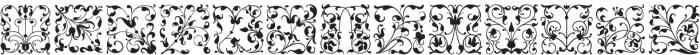 Glosso Novum Initial otf (400) Font UPPERCASE