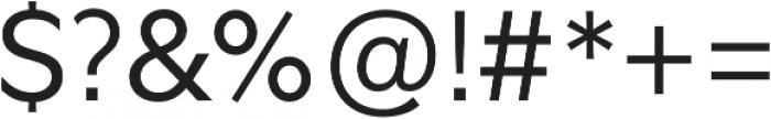 Glot Light otf (300) Font OTHER CHARS