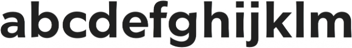 Glot Medium otf (500) Font LOWERCASE