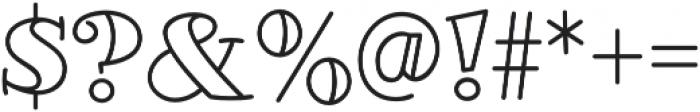 Glotona White otf (400) Font OTHER CHARS
