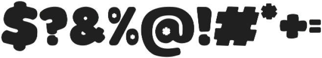 Glowie otf (400) Font OTHER CHARS