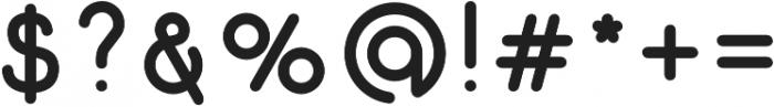 Gluck Bold otf (700) Font OTHER CHARS