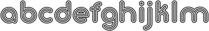Gluck Stripes otf (400) Font LOWERCASE
