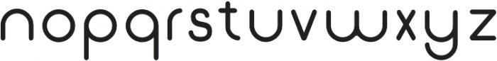 Gluck otf (400) Font LOWERCASE