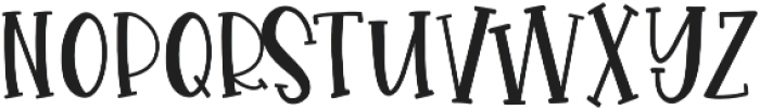 GlueGun Regular otf (400) Font UPPERCASE
