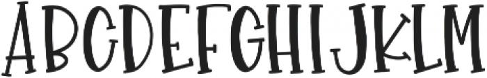 GlueGun Regular otf (400) Font LOWERCASE