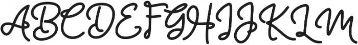 Glypher ttf (400) Font UPPERCASE