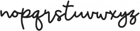 Glypher ttf (400) Font LOWERCASE