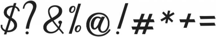 gloretha script bold Regular otf (700) Font OTHER CHARS
