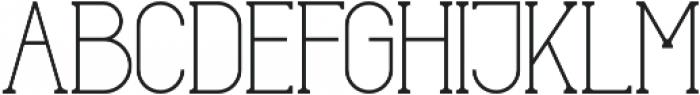 glowe otf (400) Font UPPERCASE