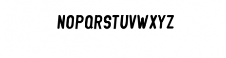 GLIFORD-Italic.otf Font UPPERCASE