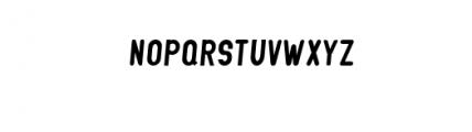 GLIFORD-Italic.otf Font LOWERCASE