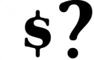 Glory - Round Serif font Font OTHER CHARS