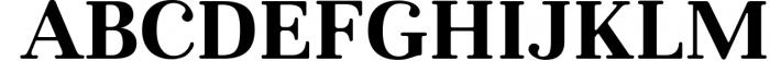 Glory - Round Serif font Font UPPERCASE