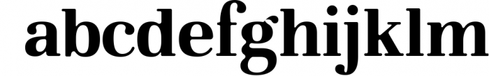 Glory - Round Serif font Font LOWERCASE