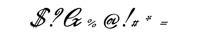 GL-GermanCurU1AY Regular Font OTHER CHARS