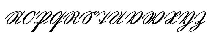 GL-GermanCurU1AY Regular Font UPPERCASE