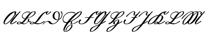 GL-Suetterlin Font UPPERCASE