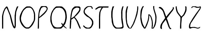 GLADETYPEFACE Font UPPERCASE
