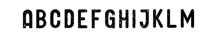 GLIFORD DEMO Grunge Font LOWERCASE