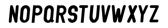 GLIFORD DEMO Italic Font UPPERCASE