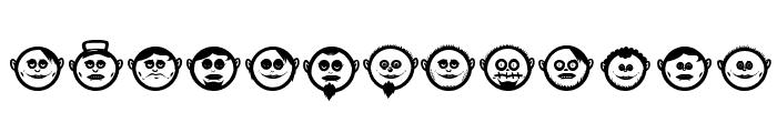 GLOBE FACE 01 Font UPPERCASE