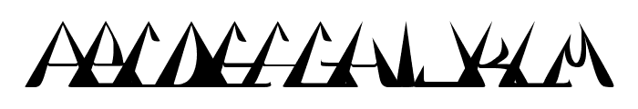 GlOrY BoLd Font LOWERCASE