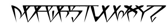 GlOrY ItAlIc Font UPPERCASE