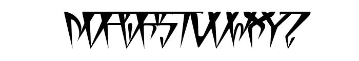 GlOrY ThIn BoLd iTaLiC Font UPPERCASE