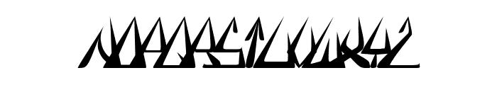 GlOrY ThIn BoLd iTaLiC Font LOWERCASE