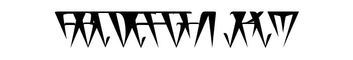 GlOrY ThIn BoLd Font UPPERCASE