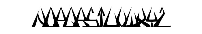 GlOrY ThIn BoLd Font LOWERCASE