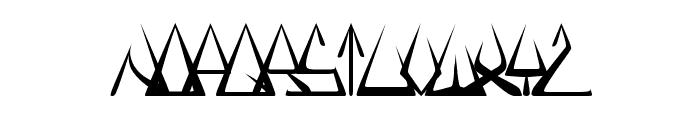 GlOrY ThIn Font LOWERCASE