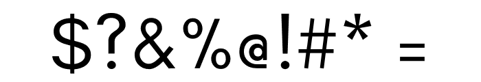 Glacial Indifference Regular Font OTHER CHARS