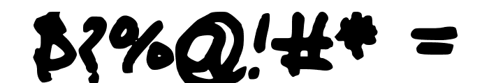 Glacious Font OTHER CHARS
