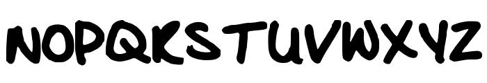Glacious Font UPPERCASE