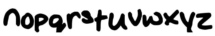 Glacious Font LOWERCASE