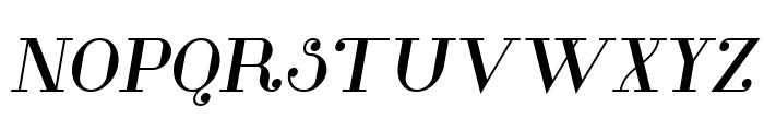 Glamor Bold Italic Font UPPERCASE