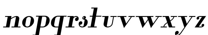 Glamor Bold Italic Font LOWERCASE
