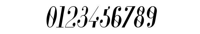Glamor-CondensedItalic Font OTHER CHARS