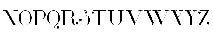 Glamor Light Font UPPERCASE
