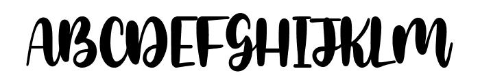 Glamori Font UPPERCASE