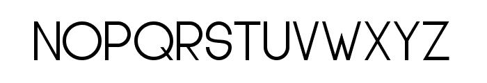 Glasket Medium Font UPPERCASE