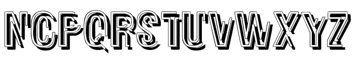 Glasnost Heavy Font UPPERCASE