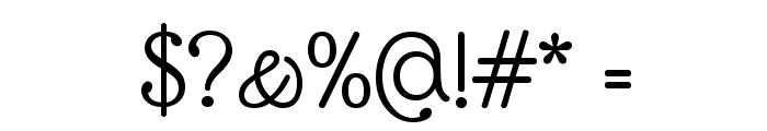 Glass Antiqua Font OTHER CHARS