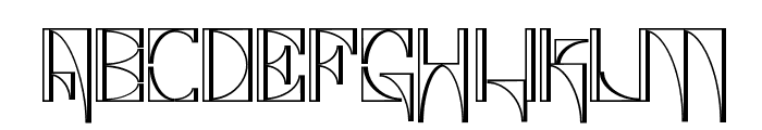 Glaukous - Industrious Font UPPERCASE