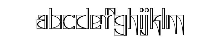 Glaukous - Industrious Font LOWERCASE